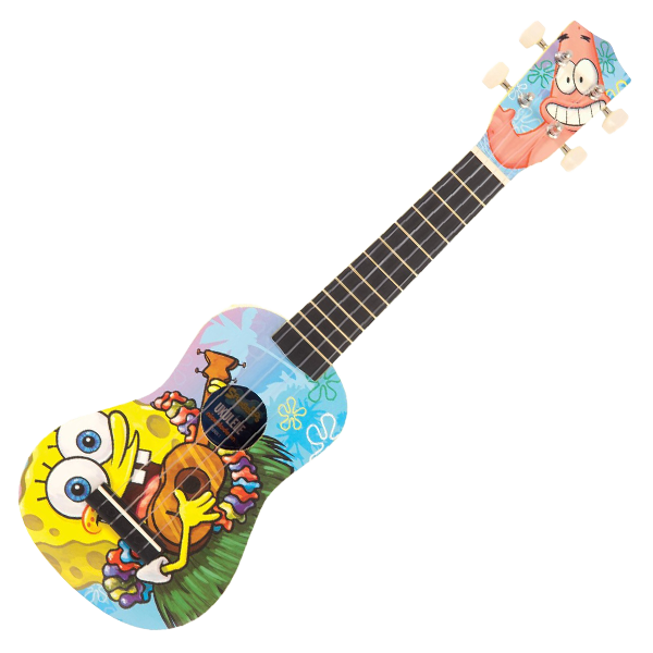 Ukulology Spongebob Ukulele Soprano Bundle - Ukulology